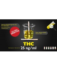 Bandelette de test d'urine THC sensitive 25ng/ml