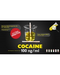 Bandelette de test d'urine Cocaine sensitive 100ng/ml